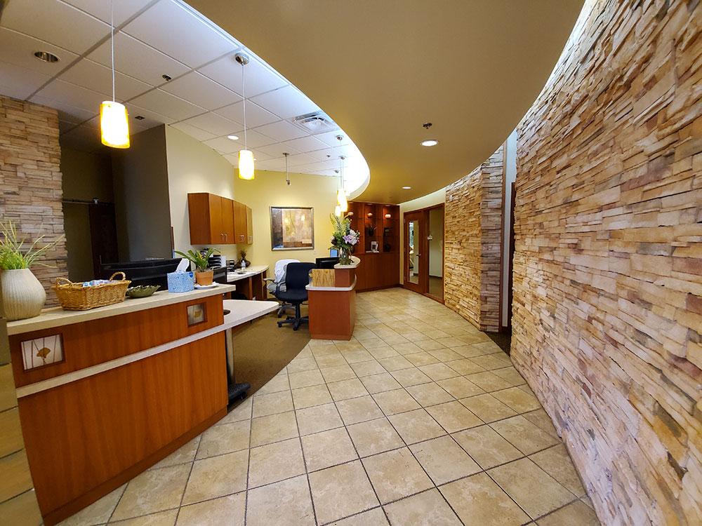 Lone Tree Modern Dental Walking down the hall